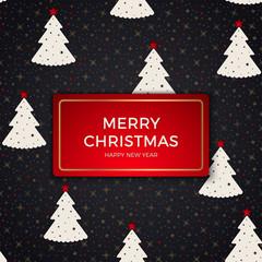 seamless retro gold texture Christmas patterns