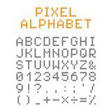 Pixel alphabet  Pixel font