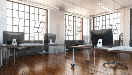 Industrial Office Area (vision)