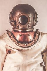vintage diver suit