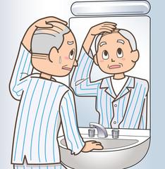 薄毛のトラブル