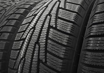 Winter car tyres