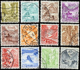 stamps switzerland 04