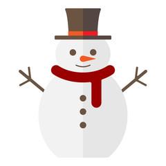 Weihnachten - Schneemann Clipart