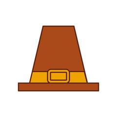 pilgrim hat classic accessory thanksgiving symbol