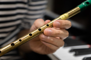 Irish tin whistle for celtic folk music