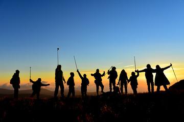 Travelers' team and peak success