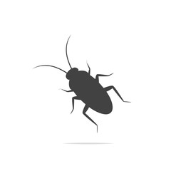 Cockroach vector icon