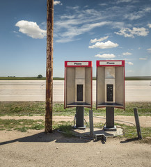 old telephones booths