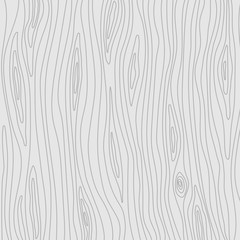 Wooden texture. Vector light grey background