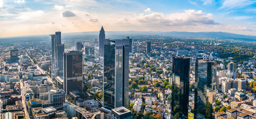 Frankfurt Skyline (germany)