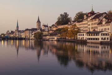 Zurich at Dawn (Switzerland)