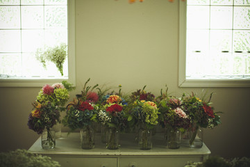 Flower Bouquets for a Wedding