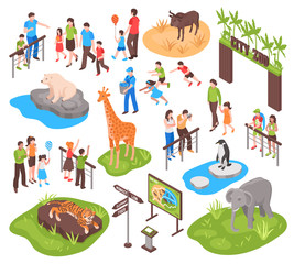 Isometric Zoo Set