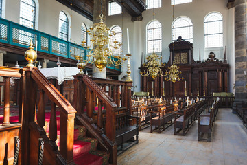 The Portugese Synagogue, Amsterdam