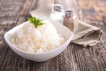 Fototapete - bowl of rice
