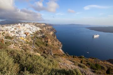 Beautiful sea view, Santorini, Greece