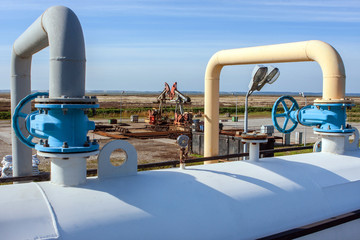Oil field equipment production capacity of pipes and pumps