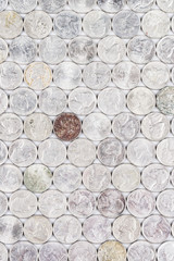 Group Image of American Nickels on Heads