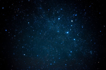 Blue shining nebula Cassiopeia. 青く輝く星雲・カシオペア座 Wall mural