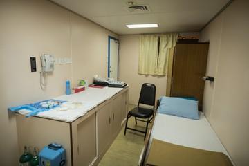 Medical room in ship
