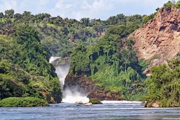 Murchison Falls in Uganda Africa Wall mural