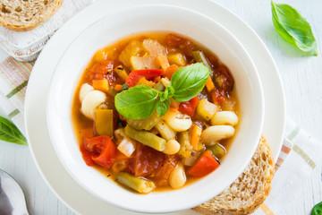 Fotobehang - Minestrone Soup