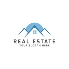 Real estate apartments logo