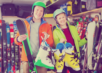 Customers are satisfied of their choice of ski