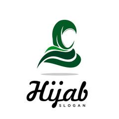 Green Muslim Hi jab logo