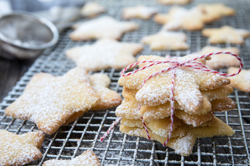 Christmas Holiday Biscuit Baking