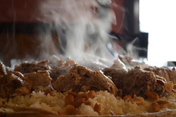 Mansaf - Traditional Jordanian Dish