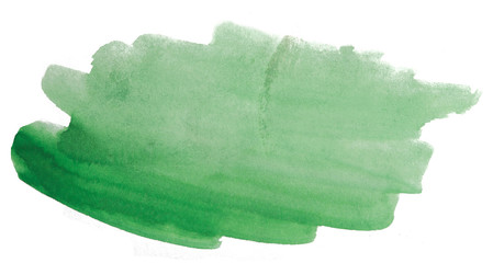green watercolor stain with texture, uneven watercolor edges