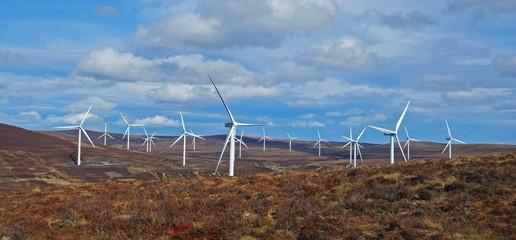 Widfarm in the Scottish Highlands