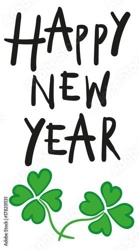 happy new year - Frohes Neues Jahr, Neujahr, Silvester, Glückwünsche ...