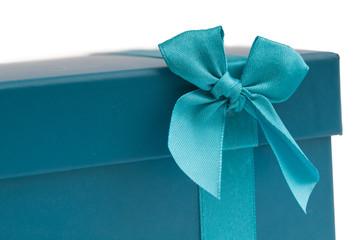 Geschenkbox türkis