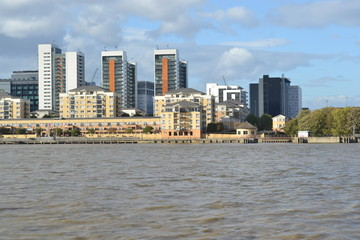 London River Thames Greenwich