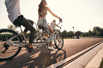 Best day to ride a bike.