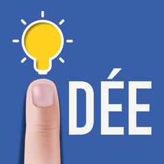 idée - présentation - fond - ampoule - créativité - créatif - imagination - invention