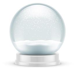 Fototapeta Boule à neige vectorielle 1 obraz