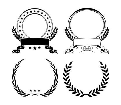 shields set silhouettes