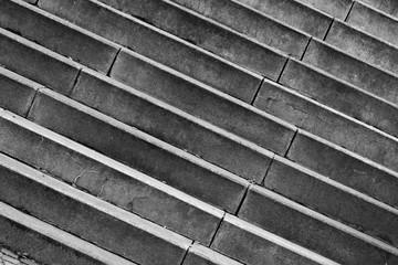 Stufen einer Steintreppe