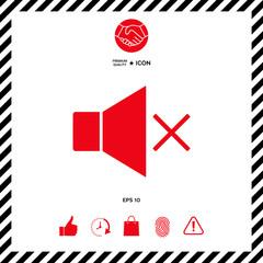 No Volume icon