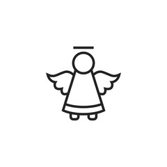 Angel Icon Vector Isolated