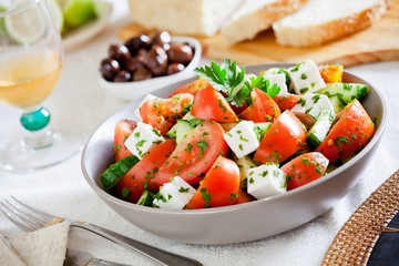 Refreshing Greek Salad
