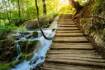 Fototapeta Plitvice Lakes National Park