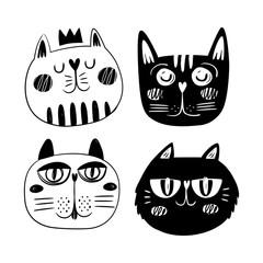 Cat logo design