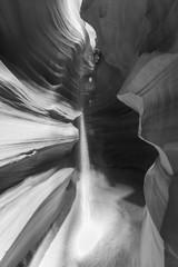 Deurstickers Canyon Beautiful light beams in Antelope Upper Canyon in Page, Arizona, USA