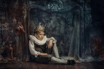 boy in the crown
