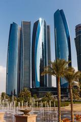 Canvas Prints Abu Dhabi Skyscrapers in Abu Dhabi, United Arab Emirates